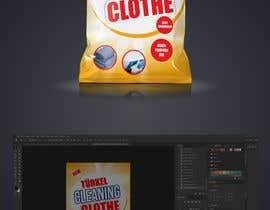 bayzidsobuj tarafından Create a Package Design for Cleaning Clothe Package için no 8