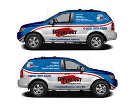 #74 for Car Wrap Design by raselcolors