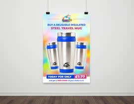 #81 for Travel Mug Poster by darbarg