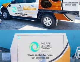 #12 for Company car wrap design af AbubakarArab123