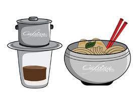 nº 13 pour 2 QUICK ILLUSTRATIONS: Cartoon Vietnamese Iced Coffee & Vietnamese Pho Bowl par antor545