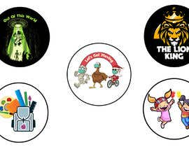 #16 untuk Round Sticker Creation!!! Unique kid friendly round stickers needed! Theme of stickers included oleh czsidou