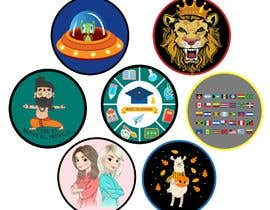 #27 untuk Round Sticker Creation!!! Unique kid friendly round stickers needed! Theme of stickers included oleh mshahanbd