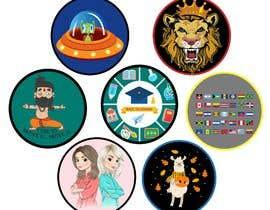 mshahanbd tarafından Round Sticker Creation!!! Unique kid friendly round stickers needed! Theme of stickers included için no 27