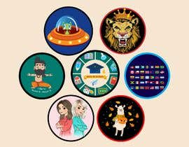 #31 untuk Round Sticker Creation!!! Unique kid friendly round stickers needed! Theme of stickers included oleh mshahanbd