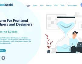 #14 для Improve UX and design of Frontend Social website от Bharathikva