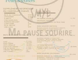 nº 16 pour Créer un désign de menu sous forme de flyer A5 3 volets pour notre restaurant par Mariamfawzi