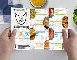 nº 22 pour Créer un désign de menu sous forme de flyer A5 3 volets pour notre restaurant par NazrulIslam52