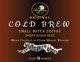 #105 for Design a CLASSY EYE CATCHING Bottle Label for cold brew bottle by JaforJafor95
