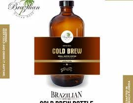 #79 for Design a CLASSY EYE CATCHING Bottle Label for cold brew bottle by kaelani211
