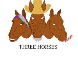 nº 42 pour Design three horse logo's par LuckasDesigner