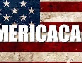 #4 for A simple logo with American Flag behind. Logo name: Americacare by zainashfaq8