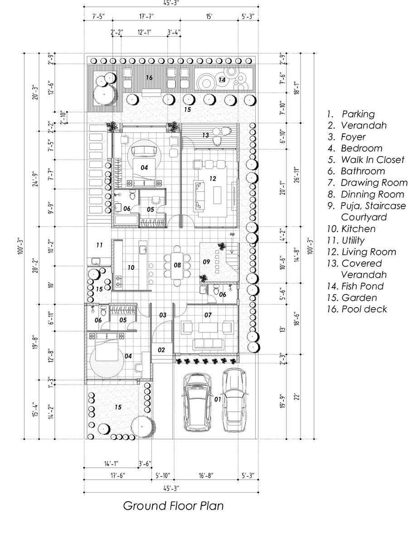 Proposition n°                                        59                                      du concours                                         Build me 2D Floor Plan for 2 Floor house!