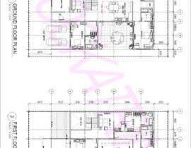 nº 44 pour Build me 2D Floor Plan for 2 Floor house! par rockatrina