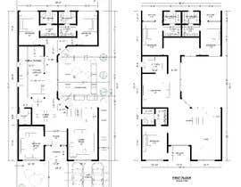 nº 45 pour Build me 2D Floor Plan for 2 Floor house! par muftiakbar