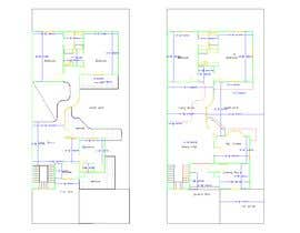 nº 50 pour Build me 2D Floor Plan for 2 Floor house! par alaakhater3