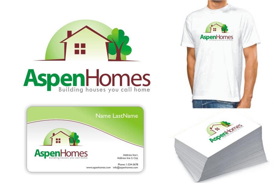 Contest Entry #                                        984                                      for                                         Logo Design for Aspen Homes - Nationally Recognized New Home Builder,