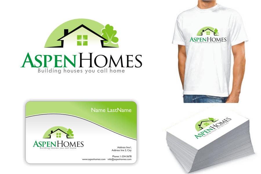 Contest Entry #                                        1025                                      for                                         Logo Design for Aspen Homes - Nationally Recognized New Home Builder,