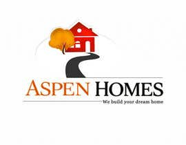 vinayvijayan tarafından Logo Design for Aspen Homes - Nationally Recognized New Home Builder, için no 990