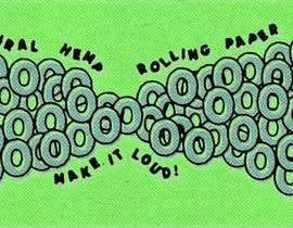 #37 untuk Design for rolling paper brand oleh mihailovz