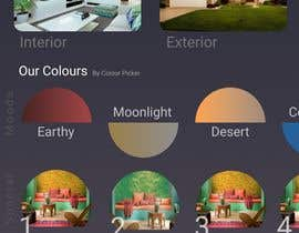 #13 for i need a UI (Image format) for mobile app homepage - Adobe XD by Tanish0512