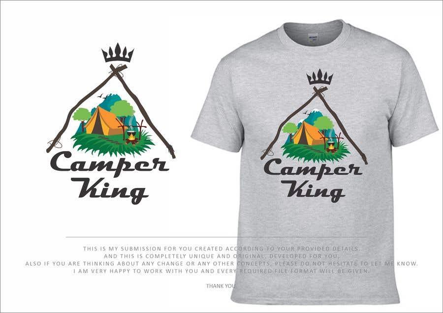 Konkurrenceindlæg #                                        185                                      for                                         Camper King Merchandise