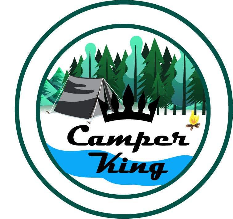 Penyertaan Peraduan #                                        187                                      untuk                                         Camper King Merchandise