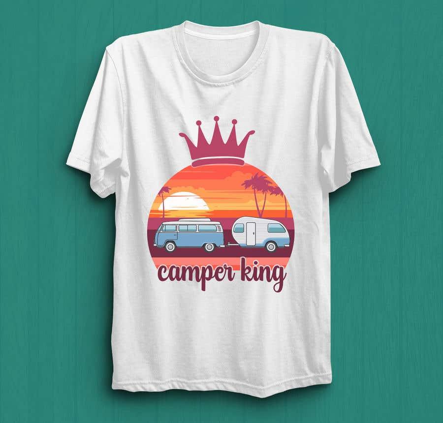 Konkurrenceindlæg #                                        191                                      for                                         Camper King Merchandise