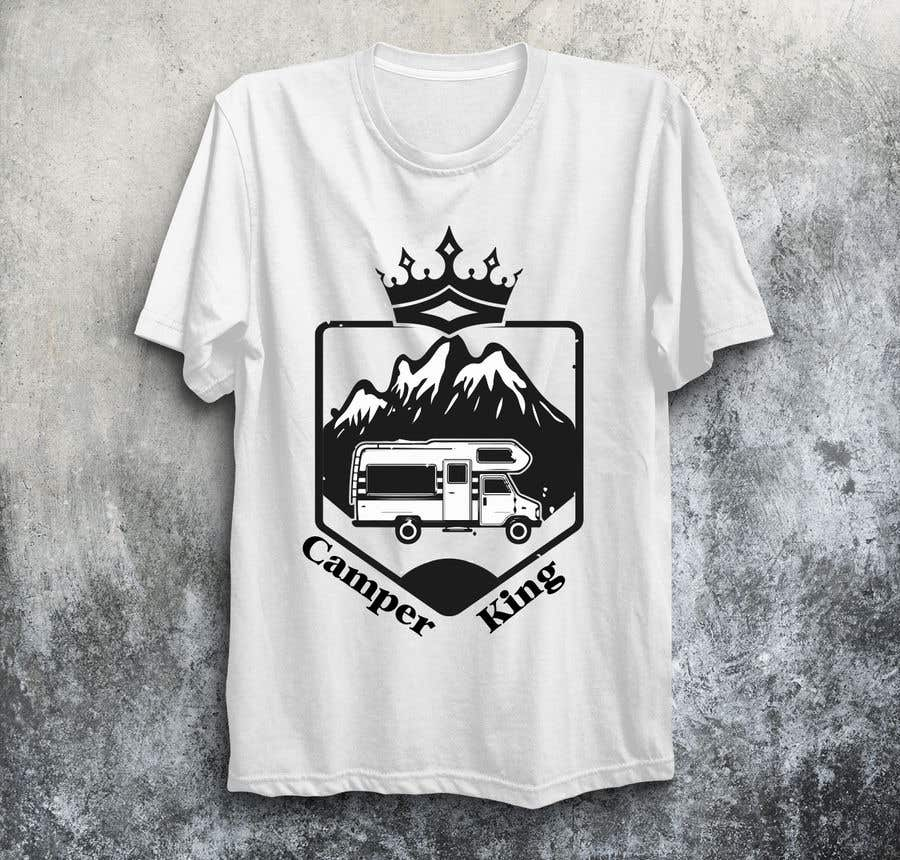 Penyertaan Peraduan #                                        195                                      untuk                                         Camper King Merchandise
