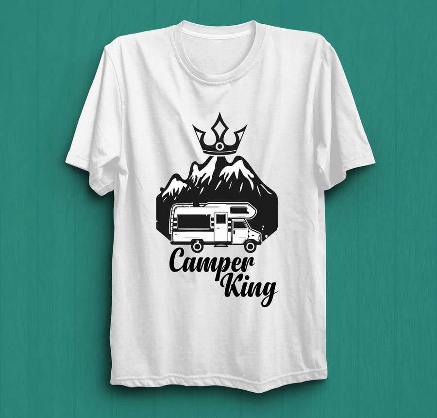 Penyertaan Peraduan #                                        196                                      untuk                                         Camper King Merchandise