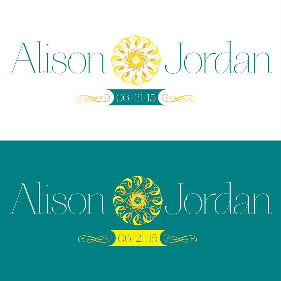 Entri Kontes #                                        11                                      untuk                                        Design our official wedding logo!