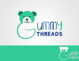 #50 para Logo Design for 'GUMMY THREADS' por cret13