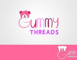 #51 para Logo Design for 'GUMMY THREADS' por cret13