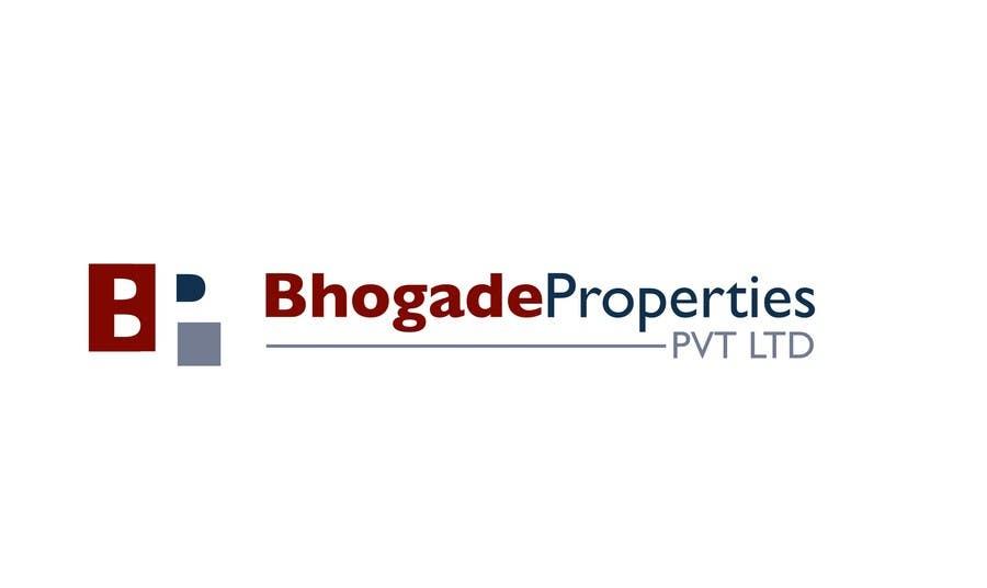 Bài tham dự cuộc thi #                                        12                                      cho                                         Logo Design for Bhogade Properties Pvt. Ltd.
