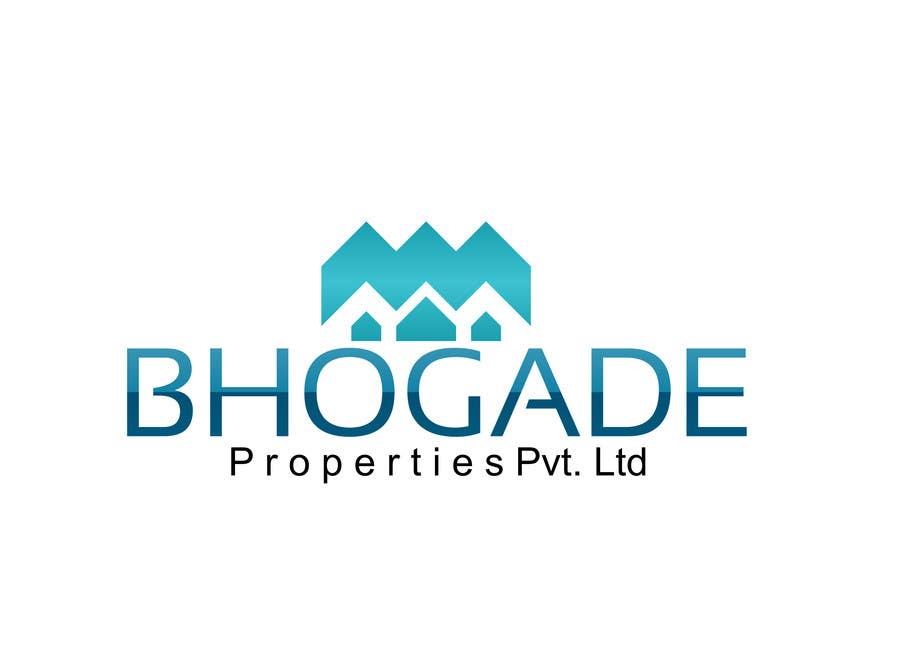 Bài tham dự cuộc thi #                                        27                                      cho                                         Logo Design for Bhogade Properties Pvt. Ltd.