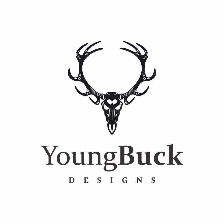 Contest Entry #                                        6                                      for                                         Buck antler logo design