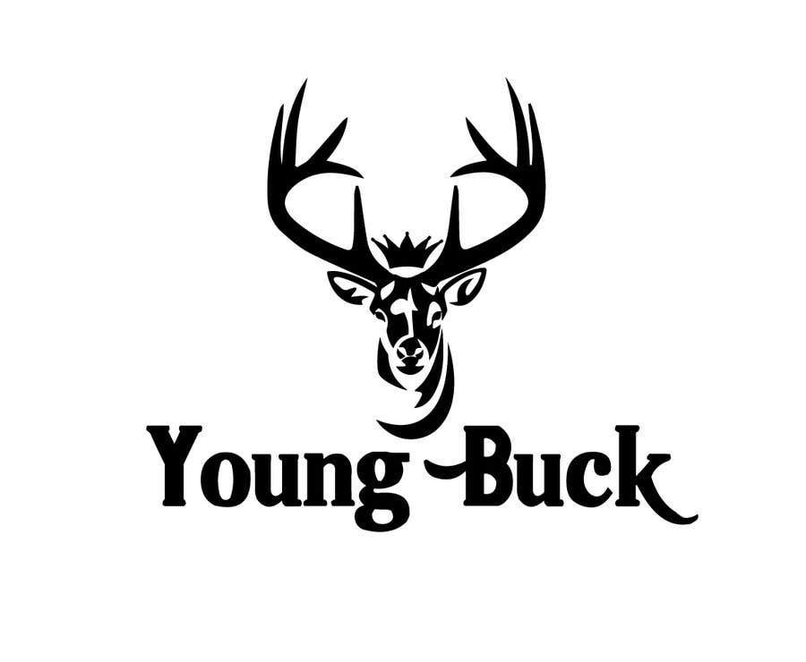 Contest Entry #                                        34                                      for                                         Buck antler logo design