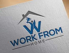 #134 untuk Logo for Win From Home oleh nurjahana705