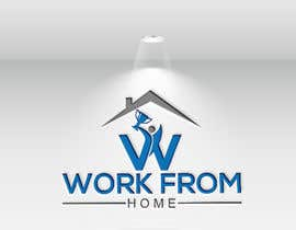 #137 untuk Logo for Win From Home oleh nurjahana705