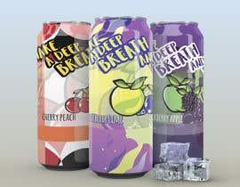 #28 untuk CBD Beverage Labels - Three Flavors oleh romulonatan