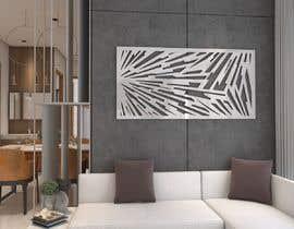 #78 para Design laser cut metall wall art panel por kaushikankur50
