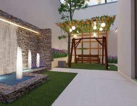 #31 for Private villa landscape design (CAD + 3D renders) af erabhinendra