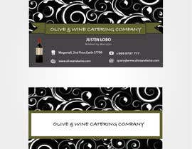 nº 32 pour Business Card Design for Catering Company par preethamdesigns