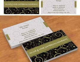 nº 26 pour Business Card Design for Catering Company par salamhadi