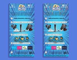 #188 untuk Help design a flyer for a Charity Lotto company oleh sazzadhossainsh2