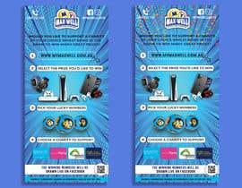 #235 untuk Help design a flyer for a Charity Lotto company oleh sazzadhossainsh2