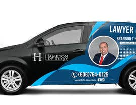 #81 for Design Professional Car Wrap for Lawyer by dindinlx