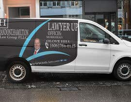 #72 for Design Professional Car Wrap for Lawyer by logo123123