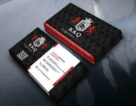 #394 for Business Card Design.... K and Q logistics LLC --- Logo Included by mdkhairulh87