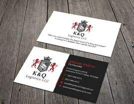 #190 for Business Card Design.... K and Q logistics LLC --- Logo Included by GDRABBI01